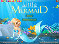 Игра Little Mermaid Dress Up онлайн - игры онлайн