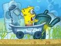 Игра Spongebob Bathtime Burnout онлайн - игры онлайн