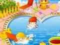 Игра Kids Pool Decorating онлайн - игры онлайн