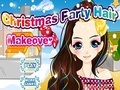 Игра Christmas Party Hair Makeover онлайн - игры онлайн
